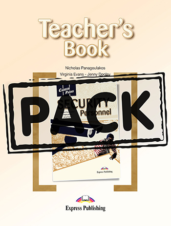 Career Paths: Security Personnel - Teacher's Pack