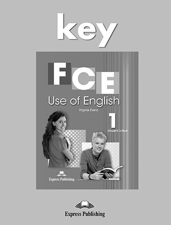 FCE Use of English 1 - Key