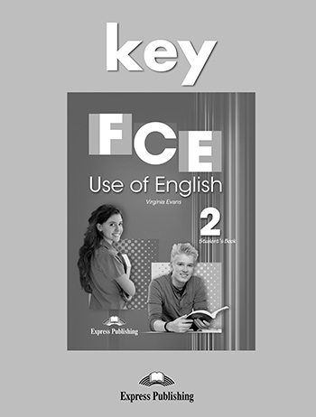 FCE Use of English 2 - Key