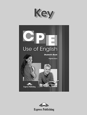 CPE Use of English - Key