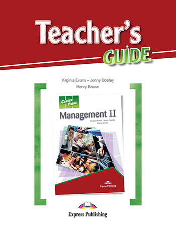 Career Paths: Management II - Teacher's Guide