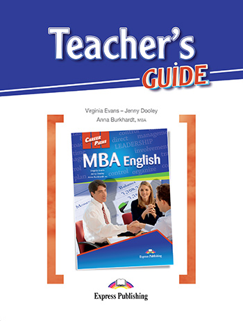 Career Path: MBA - Teacher's Guide