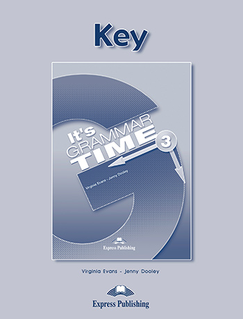 It's Grammar Time 3 - Key