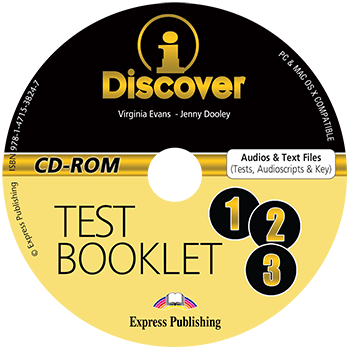 iDiscover (1-3) - Test Booklet CD-ROM