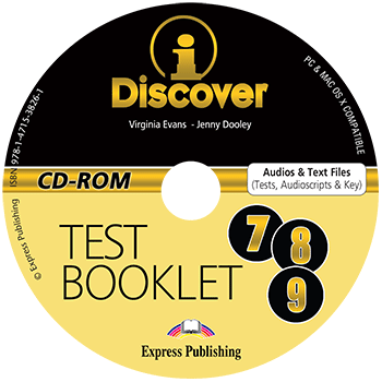 iDiscover (7-9) - Test Booklet CD-ROM