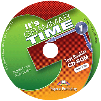It's Grammar Time 1 - Test Booklet CD-ROM