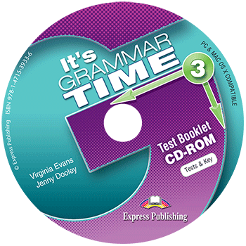 It's Grammar Time 3 - Test Booklet CD-ROM