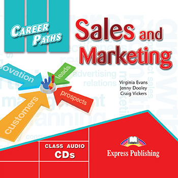 Career Paths: Sales And Marketing - Audio CDs (Set of 2)