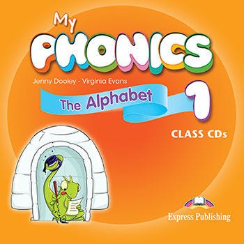 My Phonics 1 - Class Audio CD (set of 2)