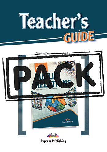 Career Paths: Public Relations - Teacher's Pack (with Teacher's Guide)