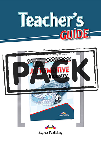 Career Paths: Automotive Industry - Teacher's Pack (with T's Guide)
