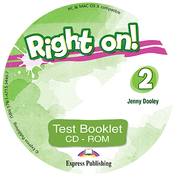 Right On! 2 - Test Booklet CD-ROM