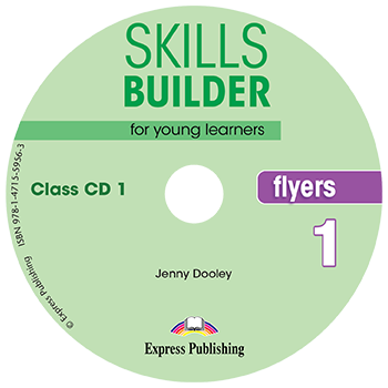 Skills Builder FLYERS 1 - Class CDs (set of 2)