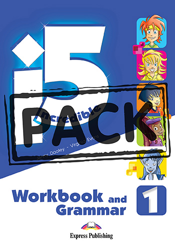 Incredible 5 1 - Workbook & Grammar Book (with Digibooks App.)