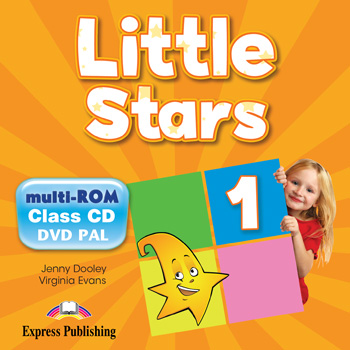 Little Stars 1 - Teacher's Multi - ROM (Class CDs, DVD PAL)