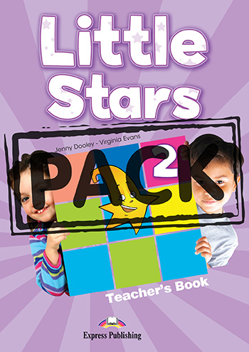 Little Stars 2 - Teacher's Book (with Posters)