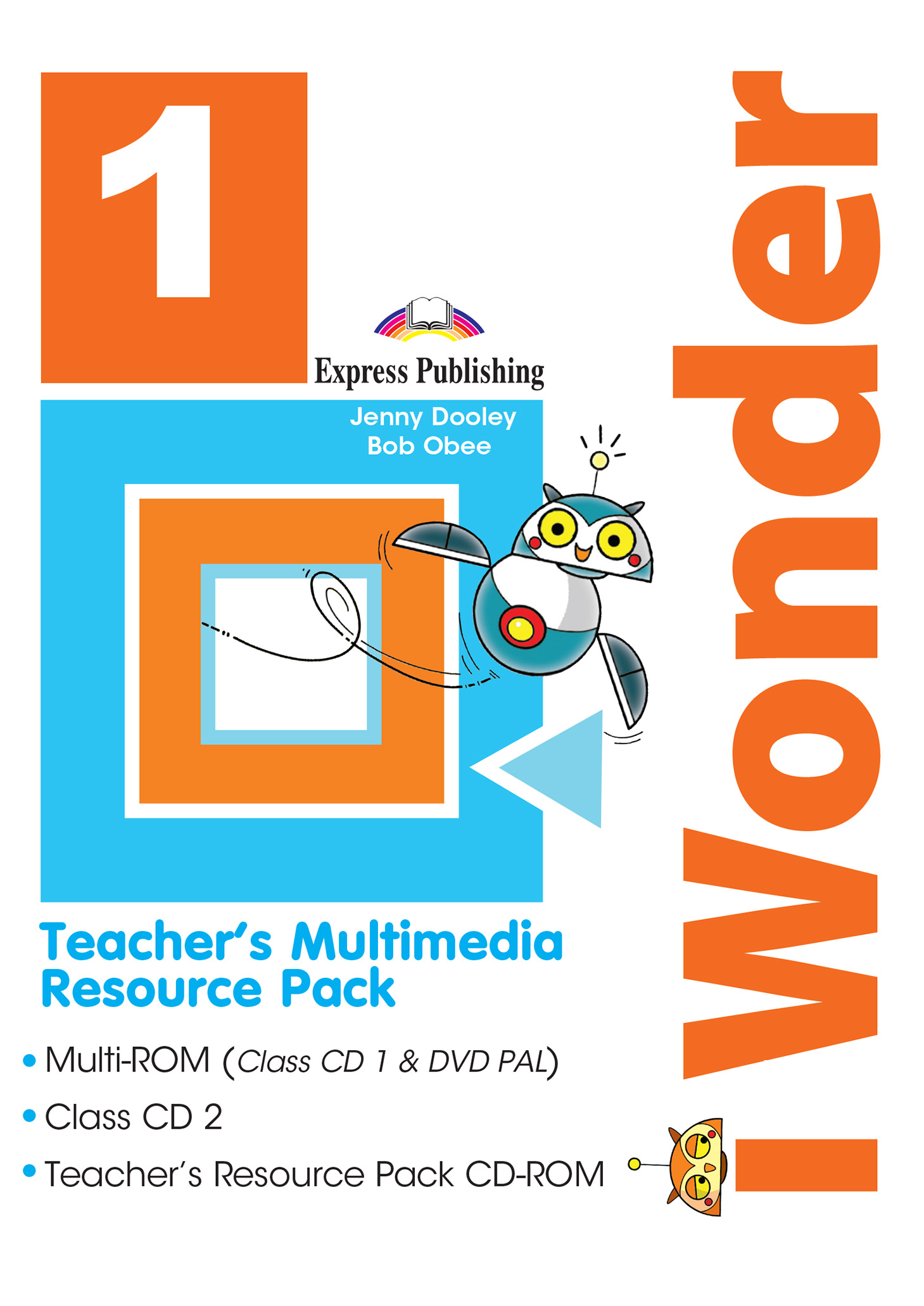 iWonder 1 - Teacher's Multimedia Resource Pack PAL (set of 3)