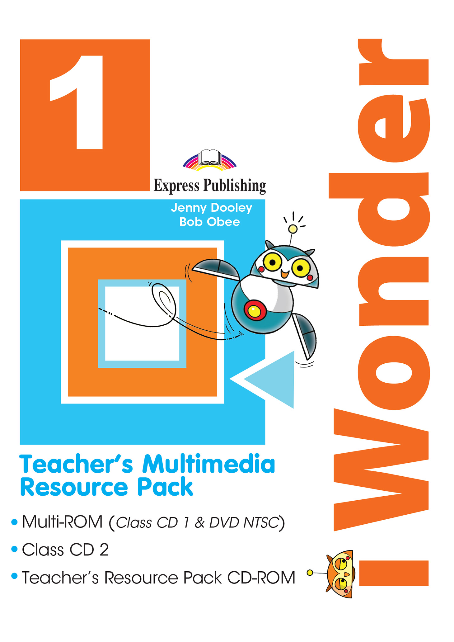 iWonder 1 - Teacher's Multimedia Resource Pack NTSC (set of 3)