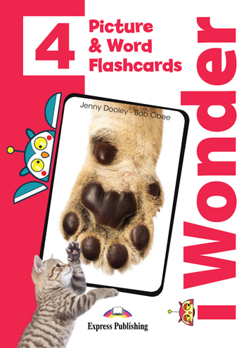 i Wonder 4 - Picture & Word Flashcards