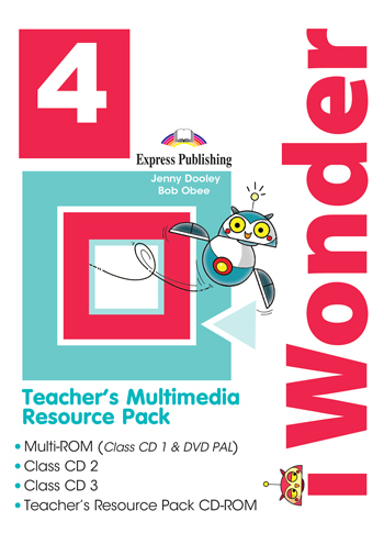 i Wonder 4 - Teacher's Multimedia Resource Pack PAL (set of 4)