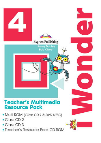 i Wonder 4 - Teacher's Multimedia Resource Pack NTSC (set of 4)