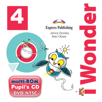 i Wonder 4 - multi-ROM (Pupil's Audio CD / DVD Video NTSC)