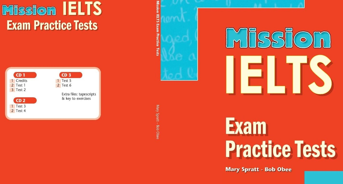 Mission IELTS - Exam Practice Tests CDs (set of 3)