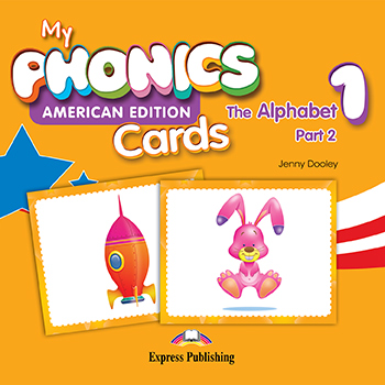 My Phonics 1 The Alphabet (American Edition) - Cards (Part 2)