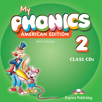 My Phonics 2 (American Edition) - Class CD's (set of 2)