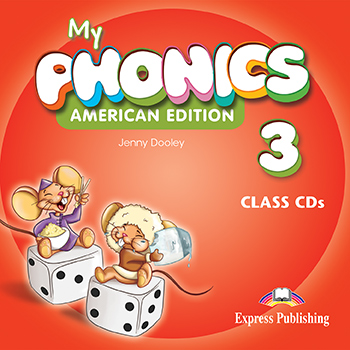 My Phonics 3 (American Edition) - Class CD's (set of 2)