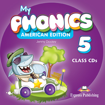 My Phonics 5 (American Edition) - Class CD's (set of 2)