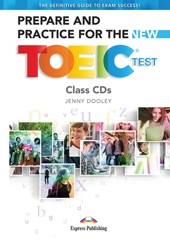Prepare & Practice for the TOEIC Test - Class CD's (set of 7)