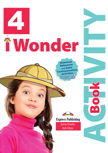 i Wonder 4 - Activity Book (with Digibooks App)