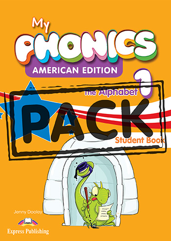 My Phonics 1 The Alphabet (American Edition) - Student's Book (with Cross-Platform Application)