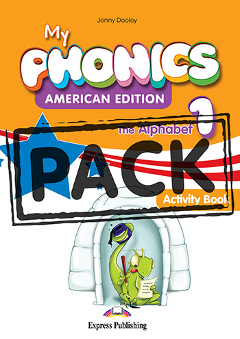 My Phonics 1 The Alphabet (American Edition) - Activity Book (with Cross-Platform Application)