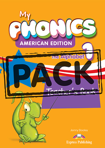 My Phonics 1 The Alphabet (American Edition) - Teacher's Book (with Cross-Platform Application)