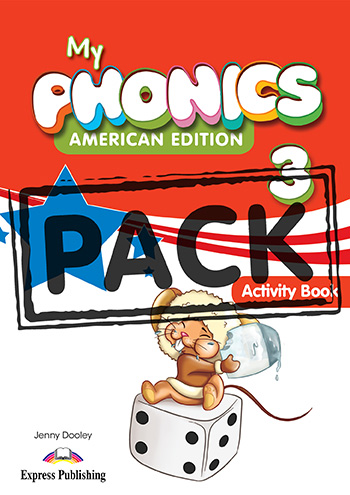My Phonics 3 (American Edition) - Activity Book (with Cross-Platform Application)
