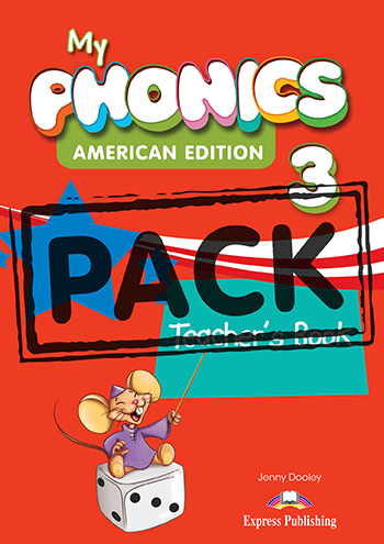 My Phonics 3 (American Edition) - Teacher's Book (with Cross-Platform Application)