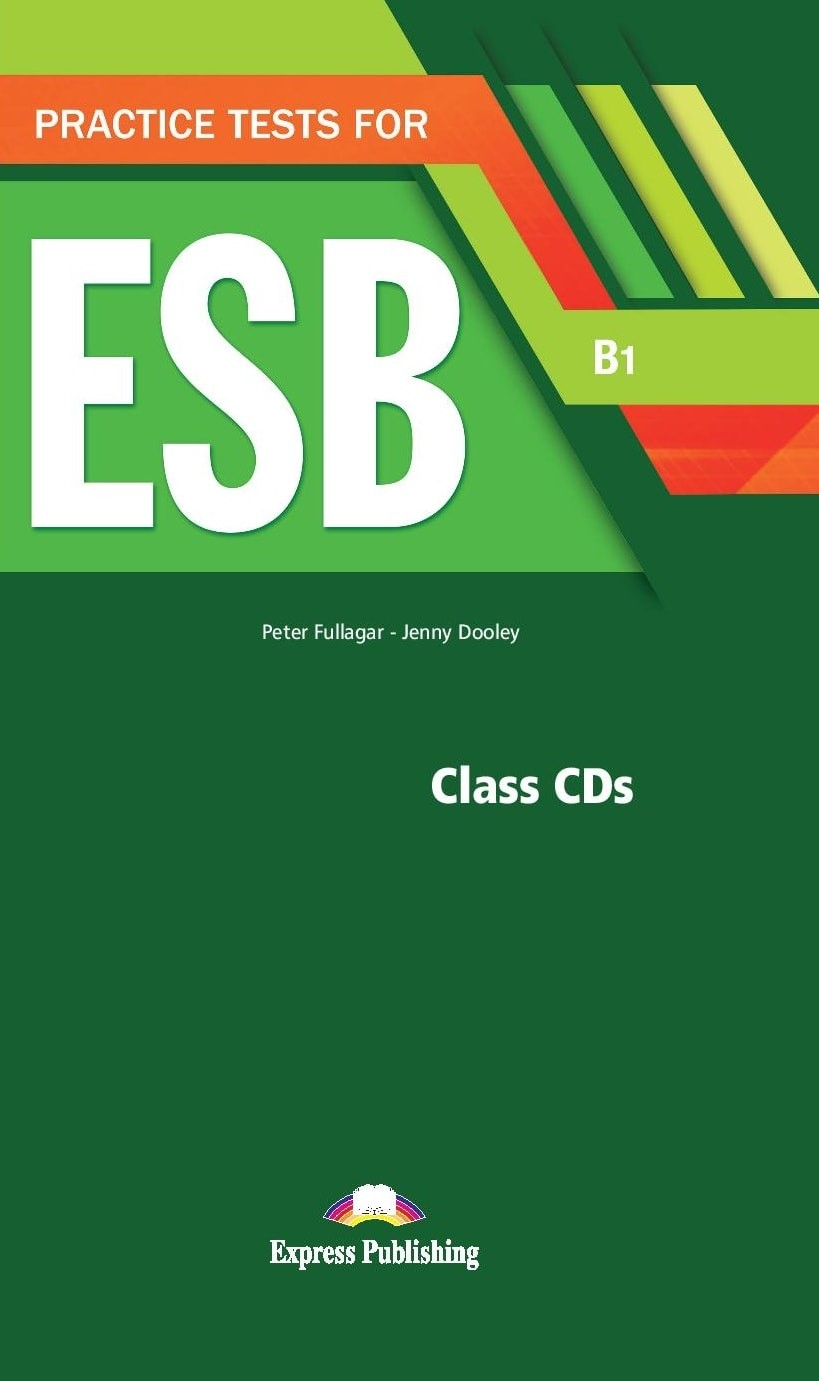 Practice Test for ESB (B1) - Class Audio CDs (set of 5)