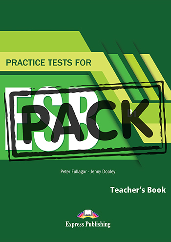 Practice Test for ESB (B1) - Teacher's Book (with DigiBooks App)