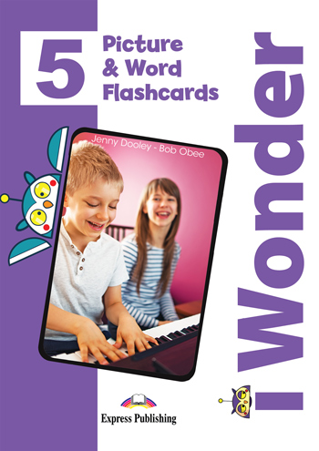 i Wonder 5 - Picture & Word Flashcards