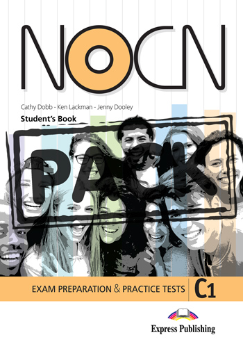 Preparation & Practice Tests For NOCN Exam (C1) - Student's Book (with Digibook App.)
