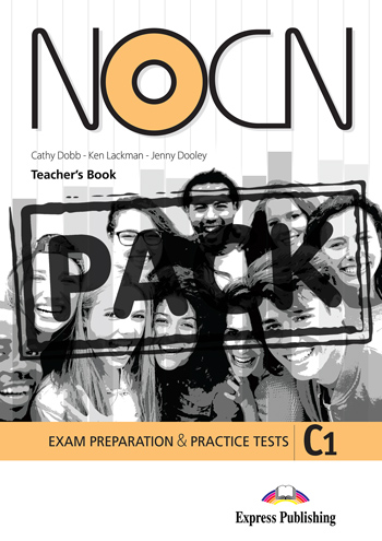 Preparation & Practice Tests For NOCN Exam (C1) - Teacher's Book (with Digibook App.)