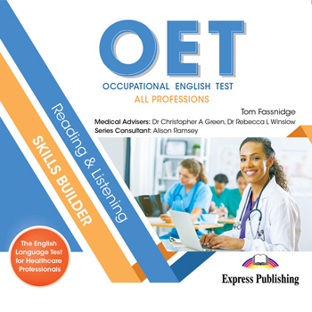 OET Reading & Listening Skills Builder: All professions - Class CD's (set of 2)