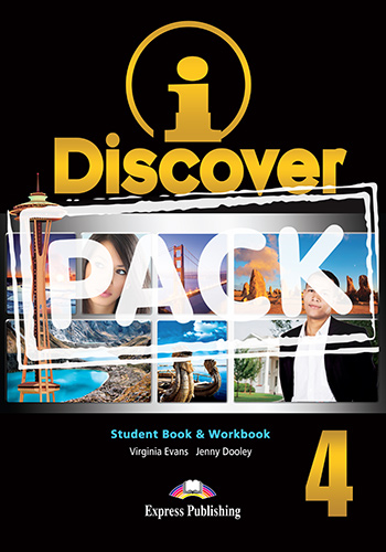 iDiscover 4 - Student Book & Workbook (with DigiBooks App.)