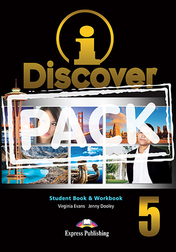 iDiscover 5 - Student Book & Workbook (with DigiBooks App.)