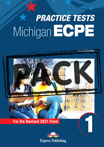 New Practice Tests for the Michigan ECPE 1 for the Revised 2021 Exam - Student's Book (with DigiBooks App)