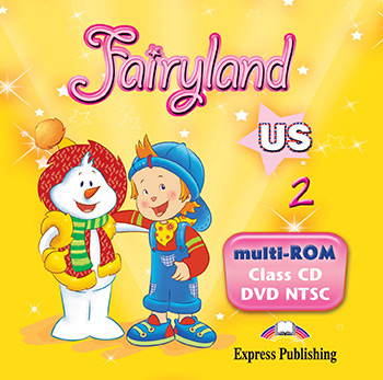 Fairyland 2 US - multi-ROM (Class Audio CD / DVD Video NTSC)