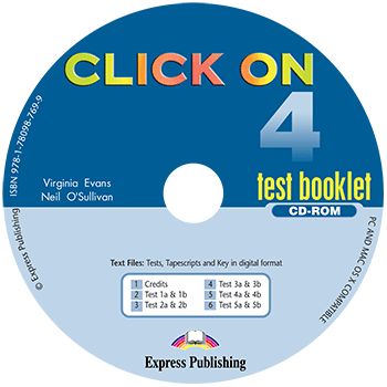 Click On 4 - Test Booklet CD-ROM