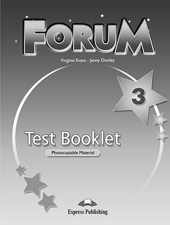 Forum 3 - Test Booklet
